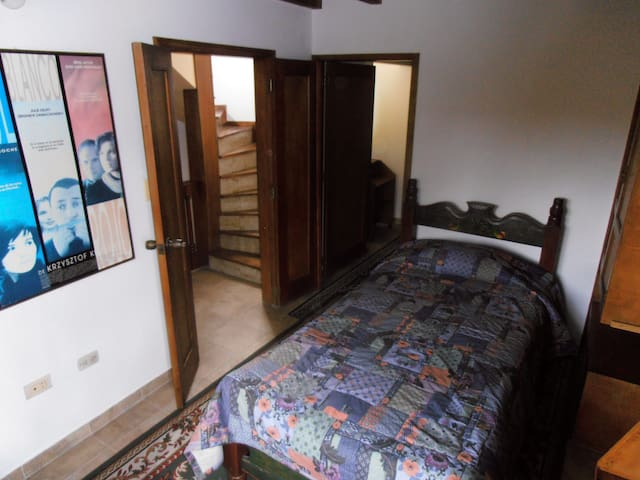Two bedrooms with private bathroom.