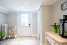 Bright spacious private entrance