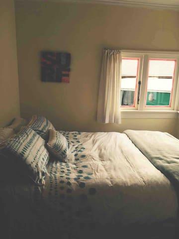 Ocean views as you lay in bed