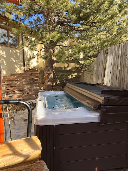 Our new hot tub!