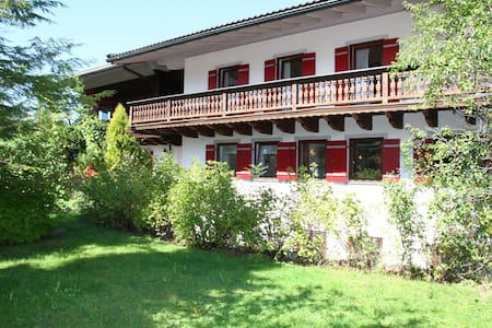 Pension - Herberge der Engel - Doppelzimmer türkis - Aschau im Chiemgau
