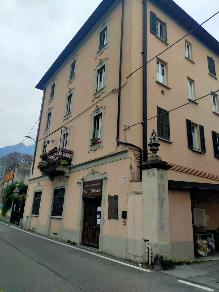 Lecco center rooms