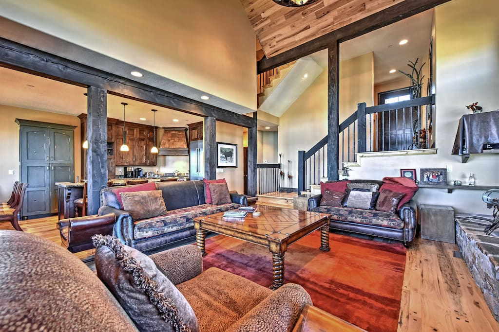 Relax in the cozy and spacious living room.