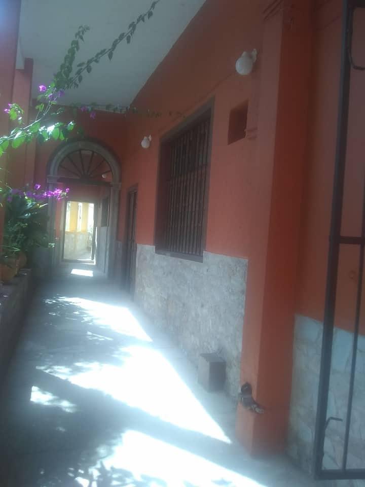 Habitación en el corazón de Guanajuato 2a3personas
