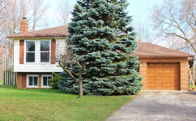 Spacious 3+2 bedroom raised bungalow on 80' x 200' - Barrie - Casa