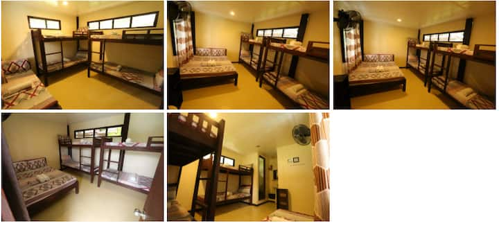 Dormitory Room for 6 pax at Tejero Highland Resort