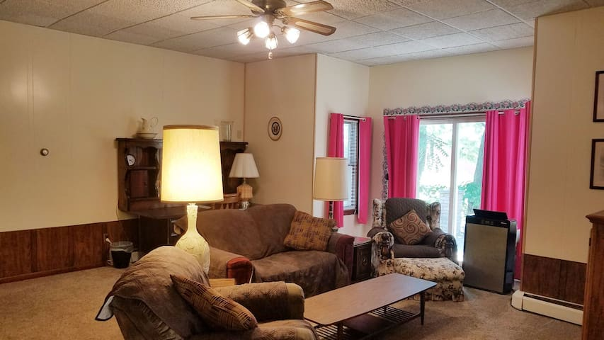 Large 2 Bedroom House.  Porch and large yard. C1