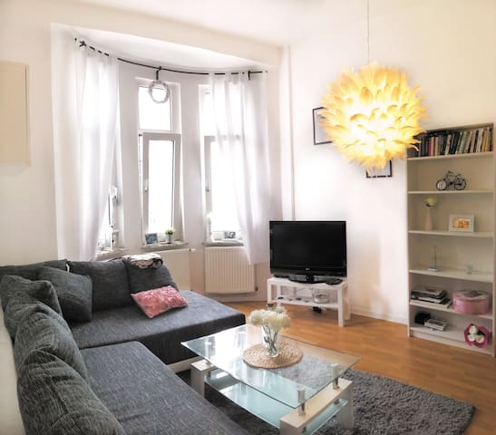 Apartment with WiFi, close to Uni , Messe , City