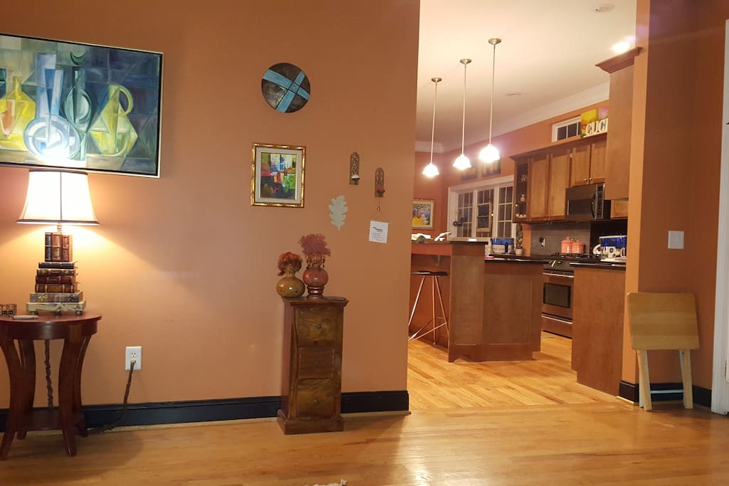 Kitchen / Dining area taken from Den