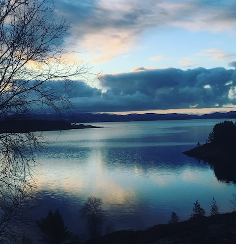 Fjord view room for two @ #gulenakken