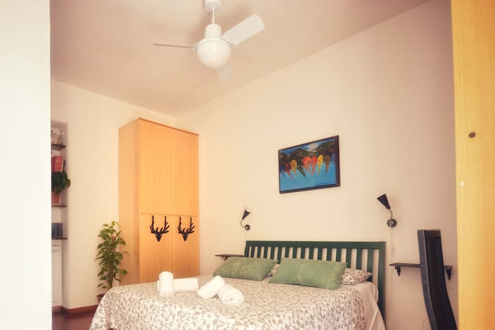 Master Bedroom, Ceiling Fan, Balcony