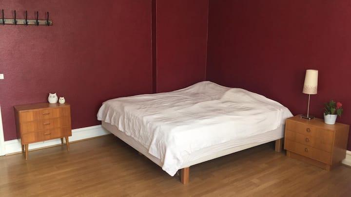 Big private room in central Malmö (Möllan)
