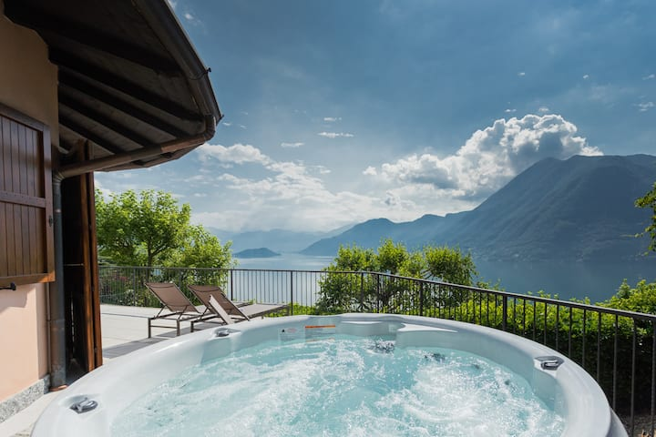 Villa Castello with jacuzzi & priceless view