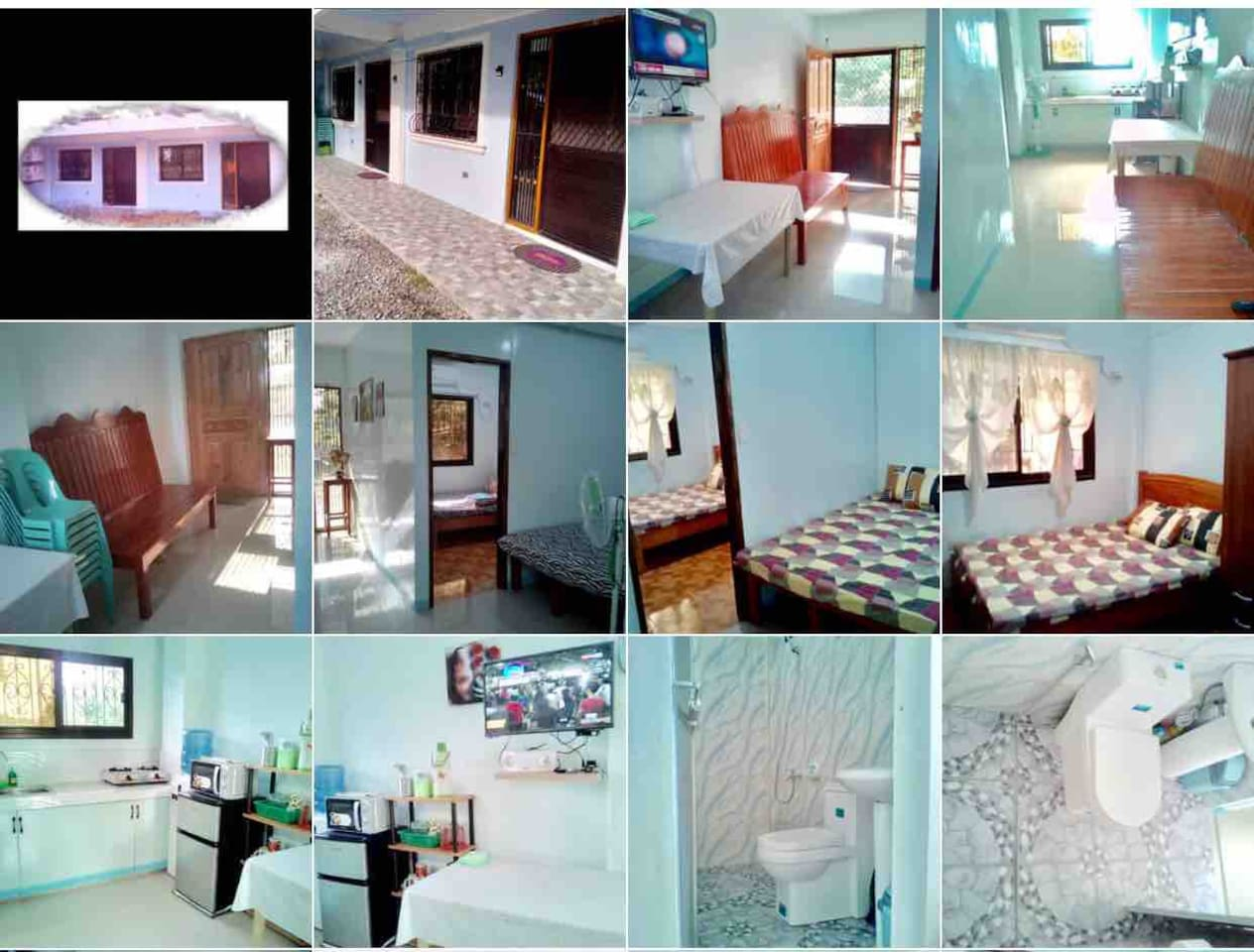 Different views of one of our unit at Abella's Apartelle...