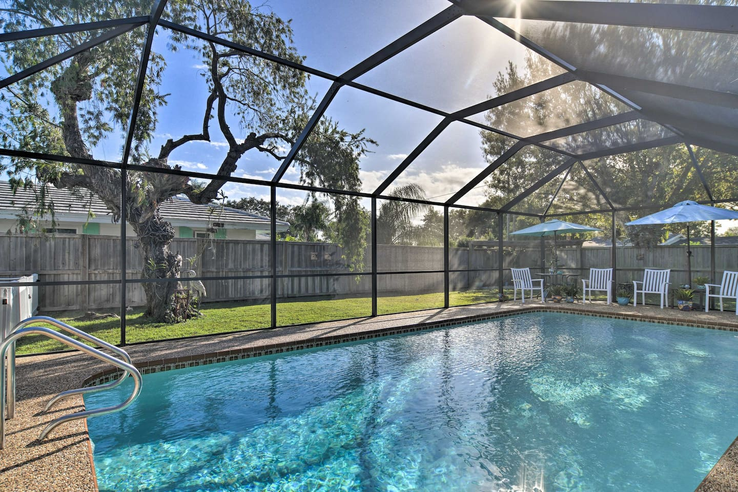 Dive into the Sunshine State when you stay at this vacation rental studio.