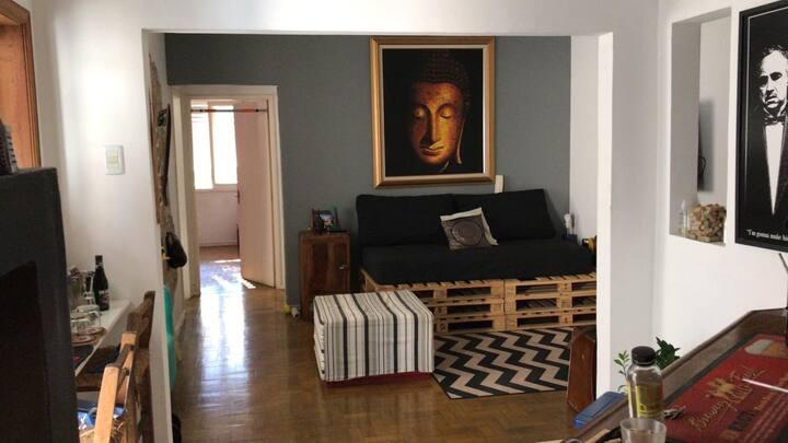 Apartamento conceito moderno e aconchegante