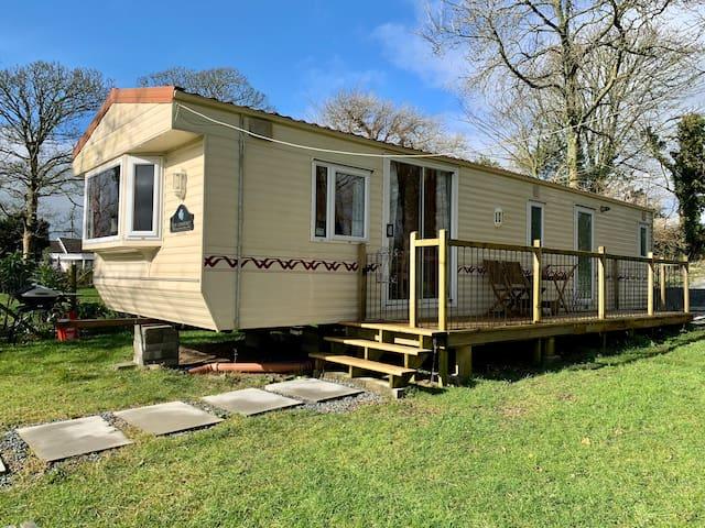 Peaceful Retreat Static Caravan on Smallholding