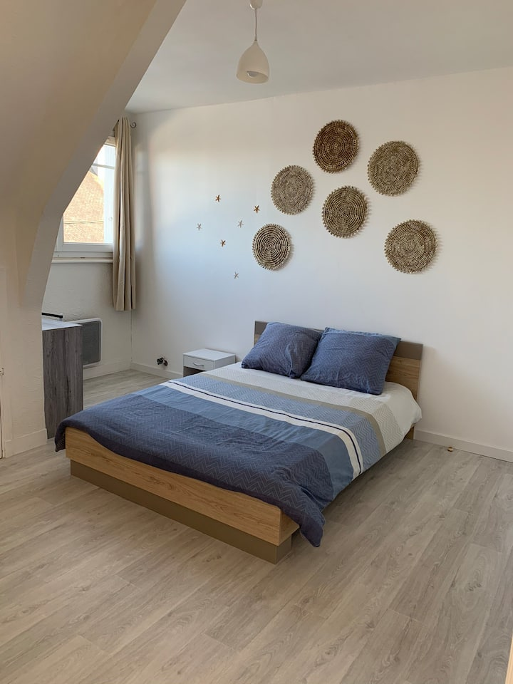 Grand studio de 25 m2 à Lorient