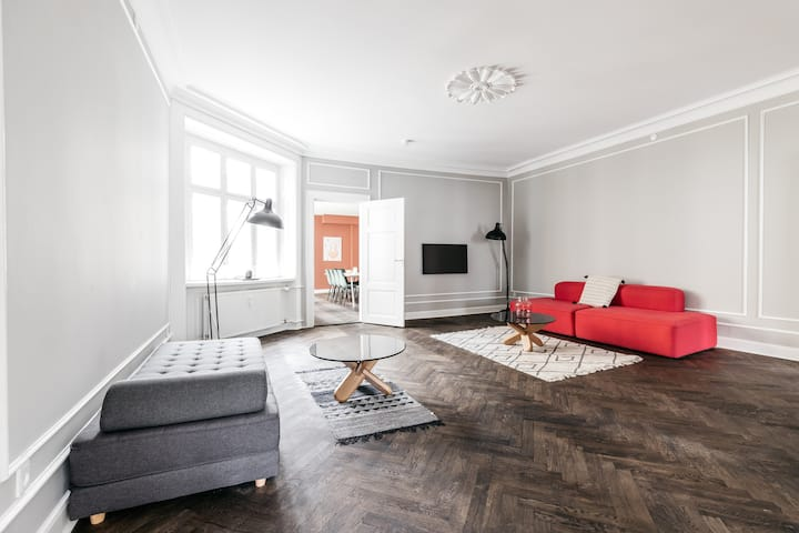 ★Extreme luxury Apt - Heart of CPH - Own Balcony★