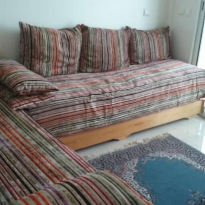 BOUZNIKA, location appartement avec piscine