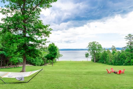 ADK Oasis: Your Lake Champlain Waterfront Paradise