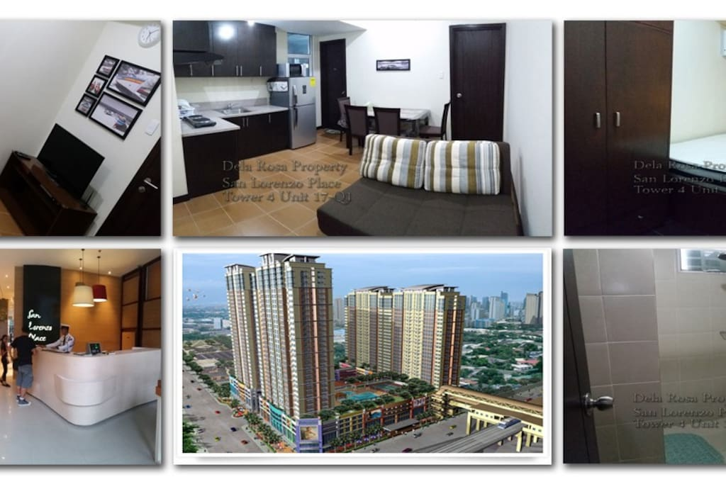 cozy 1 br unit in makati city appartements en r sidence louer makati grand manille. Black Bedroom Furniture Sets. Home Design Ideas