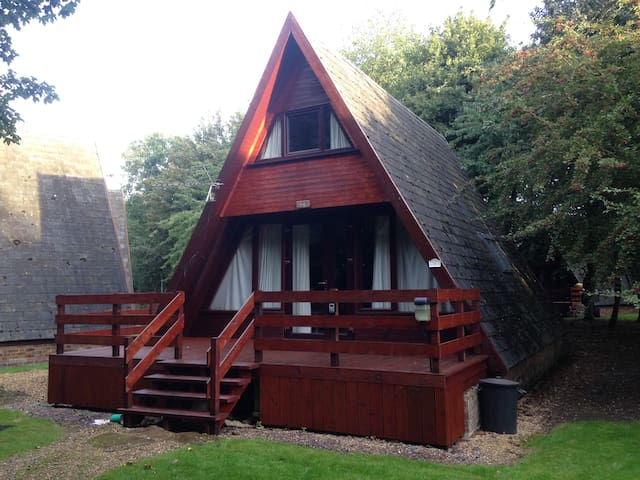 Wooden Lodge by Grafham Water