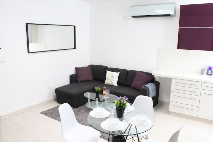 The New Apartment in the Center of Jerusalem
