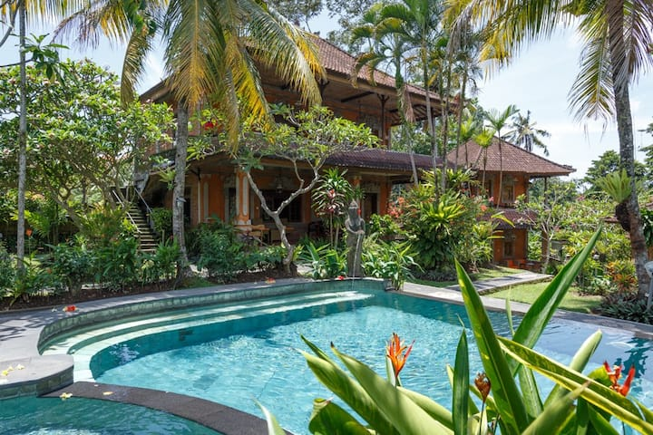 Room with AC and pool in Ubud 223