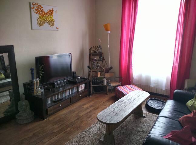 Maison chaleureuse aux airs de brocante :)