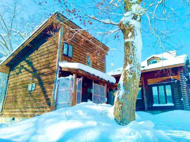 Cottage with BIG Land!! - 妙高高原1号棟
