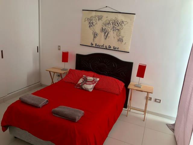 Moderna habitación en Residencial Con Alberca