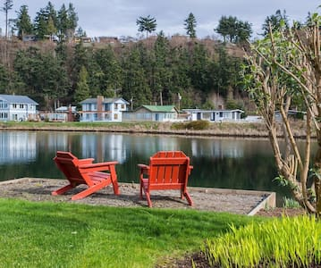 Mermaid Lagoon Guest Cottage, Whidbey Island - Greenbank - Pensió