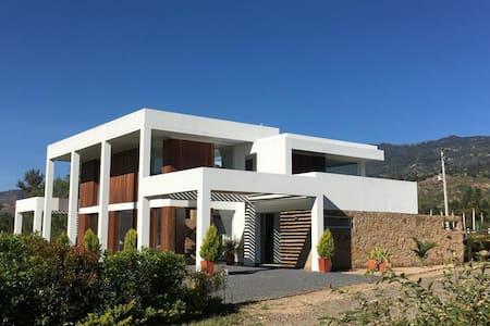 Casa Campestre Sutamarchán - Villa de Leyva
