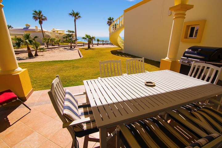 Stunning 4 Bedroom Beach Villa on Sandy Beach at Las Palmas Beach Resort V13