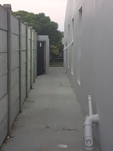 Follow this passage to your accommodation