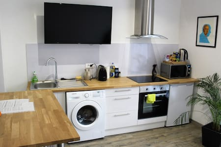 Studio flat parking Reims center 2 people - Reims - Διαμέρισμα