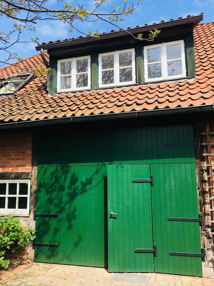 Messe oder Ferien: Traumhafte Wohnung im Grünen