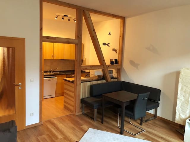 Furnished 3 room apartment in Rostock city centre
