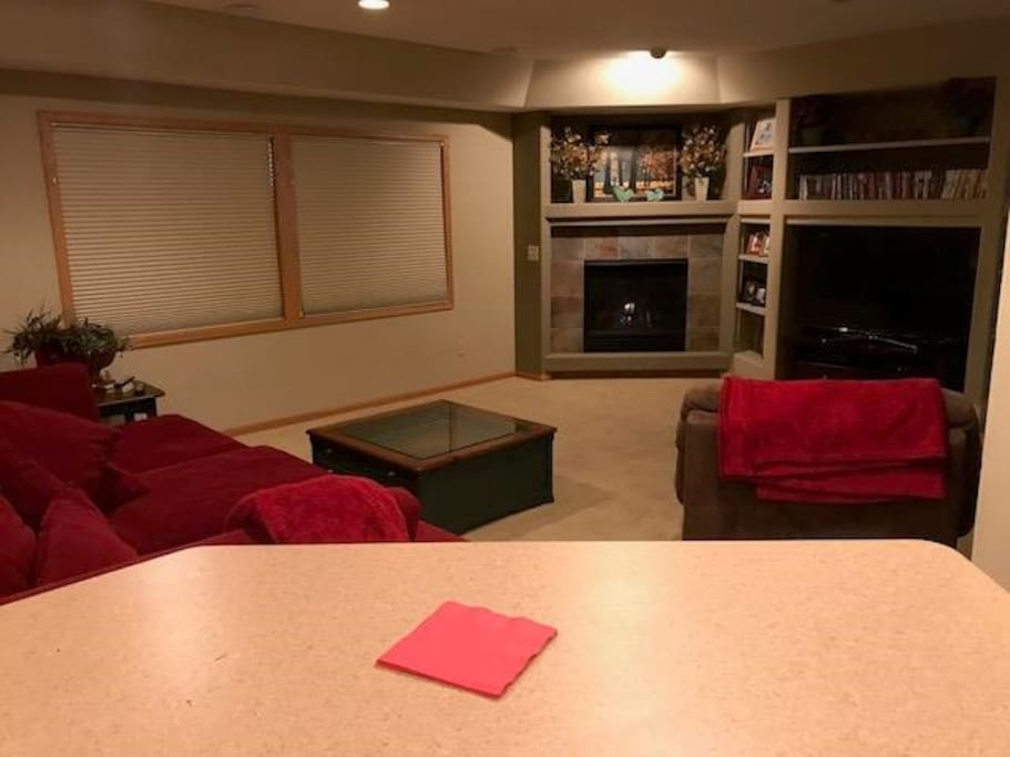 Downstairs Entertainment Area