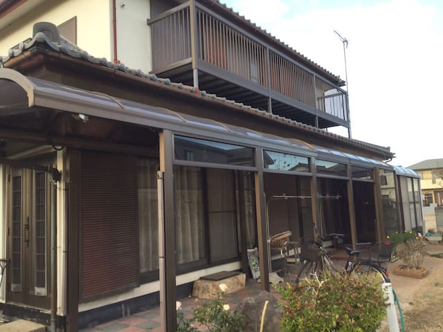 和風一軒家Big Japanese House2/20000yen per person 1week