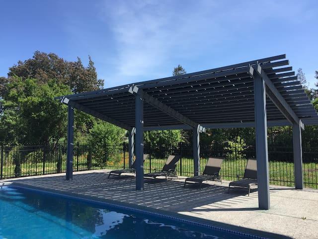 hot tub, firepit,pool,playground, - Santa Rosa - House