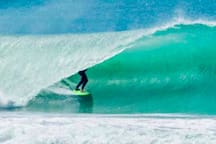 getting barrel at local stockroute break