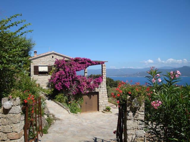 Vue panoramique et calme absolu - Belvédère-Campomoro - Rumah