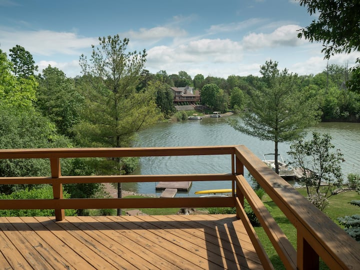 Sweet View-  LAKE Front Log Cabin