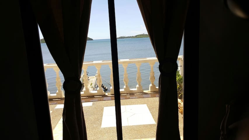 SEA VIEW ROOM no#1 fan room only air cooler only - Busuanga - Casa