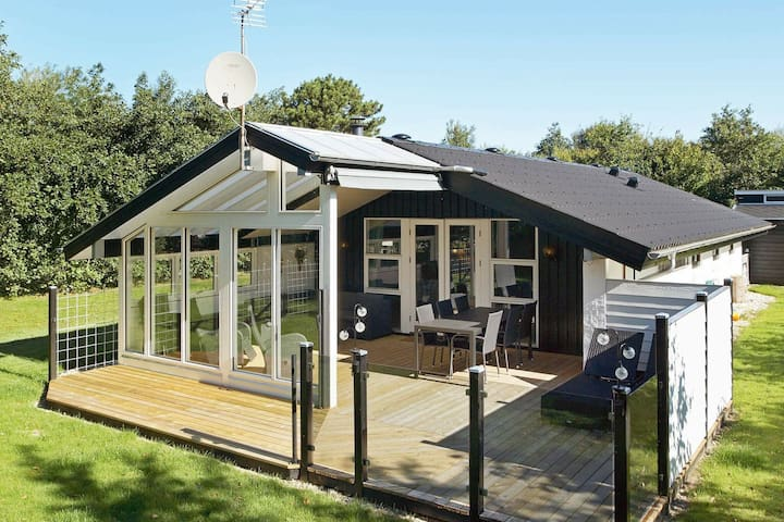 Spacious Holiday Home in Hemmet With Terrace