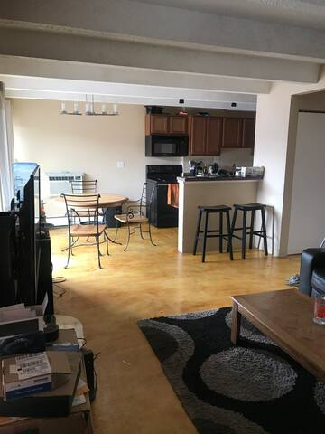 Very basic apartment. Easy setup