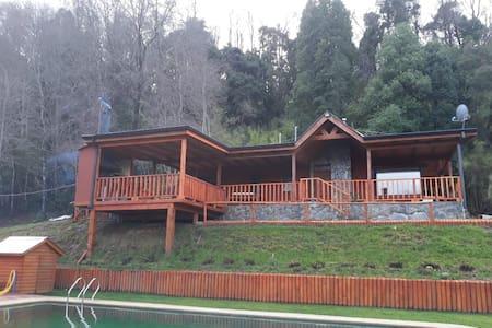 Cabaña El Roble (Para 12 Personas)