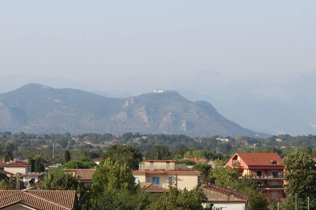 Vista su Montecassino